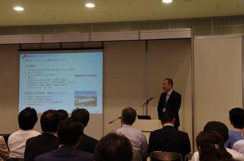 ロジスティクスソリューションフェア2015 ライナロジクス プレゼンテーションセミナー